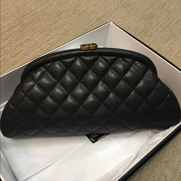 42995e4a2bdb7a CHANEL Bags | Cavier Quilted Timeless Clutch Bag | Poshmark